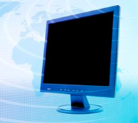 image of computer monitor